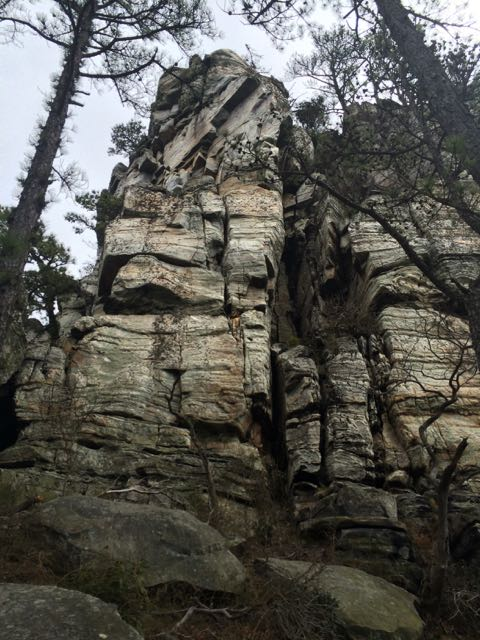 Rocks on Big Pinnacle