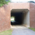 Tunnel under Main Campus Dr