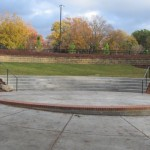 Small amphitheater area