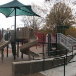 Another view of the jungle gym