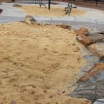 More of the sandbox area