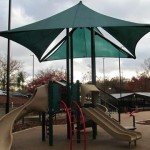 Another playground area with shade