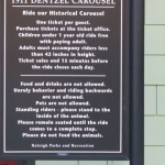 Information about the carousel