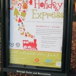Information about the Holiday Express event