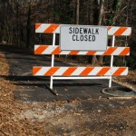 Access to Glen Eden Pilot Park from the road is closed
