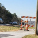 Trail closed near intersection of Wade Ave & Ridge Rd